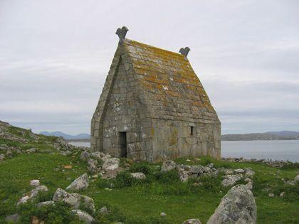 Small church on MacDara's Island